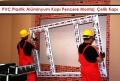 PVC Plastik Alüminyum Kapı Pencere Montaj | Çelik Kapı