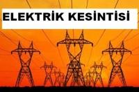 Çubuk'ta Elektrik Kesintisi